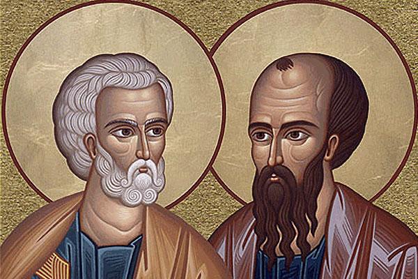 Św. Apostołowie: Piotr i Paweł